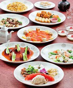 中国料理店「王朝」